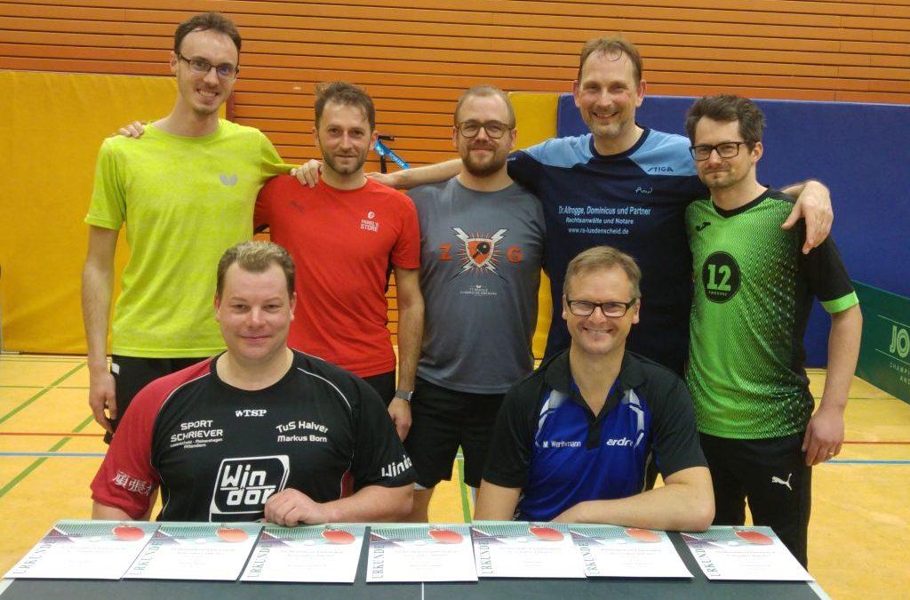 André Hegendorf gewinnt die Kreisendrangliste Herren A