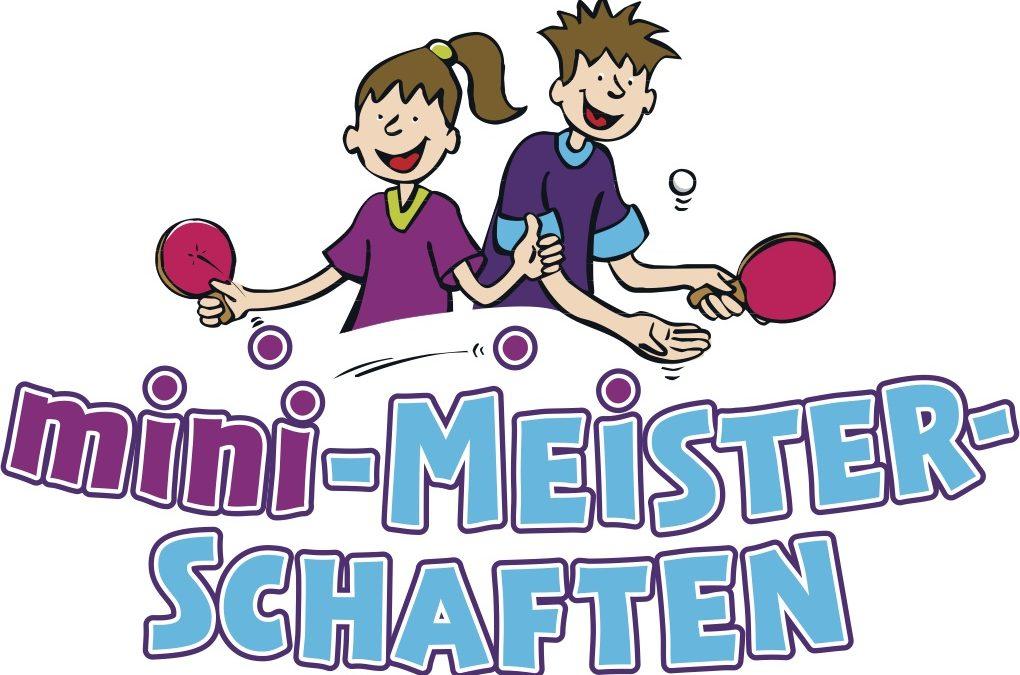 60 Starterinnen und Startern aus zehn Vereinen beim diesjährigen Kreisentscheid der Tischtennis-Mini-Meisterschaften