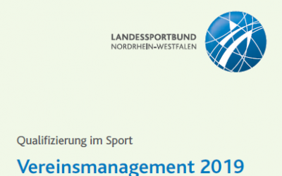 ANGEBOTE VEREINSMANAGEMENT 2019