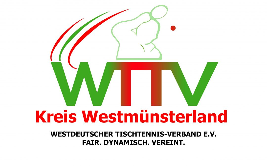 Kreismeisterschaften 2019 – Ausschreibung (Neue Q-TTR-Werte in den C, D, E u. F-Klassen)