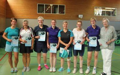 Senioren-Kreiseinzelmeisterschaften 2019