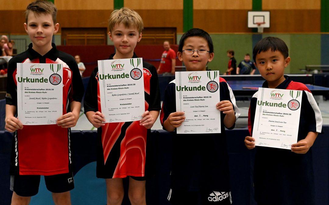 Abschluss Kreismeisterschaften Rhein-Ruhr 2019