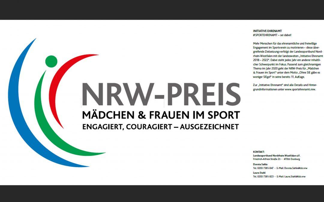 NRW-PREIS FÜR MÄDCHEN UND FRAUEN