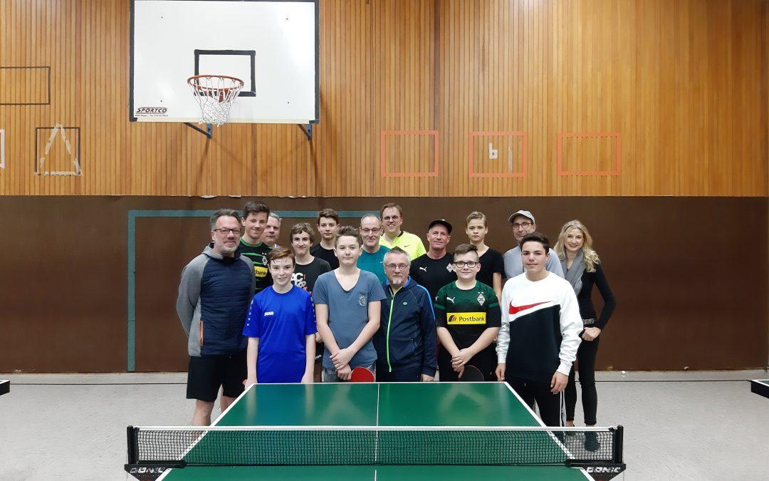 Erfolgreiches Eltern-Kind-Turnier in Wickrath