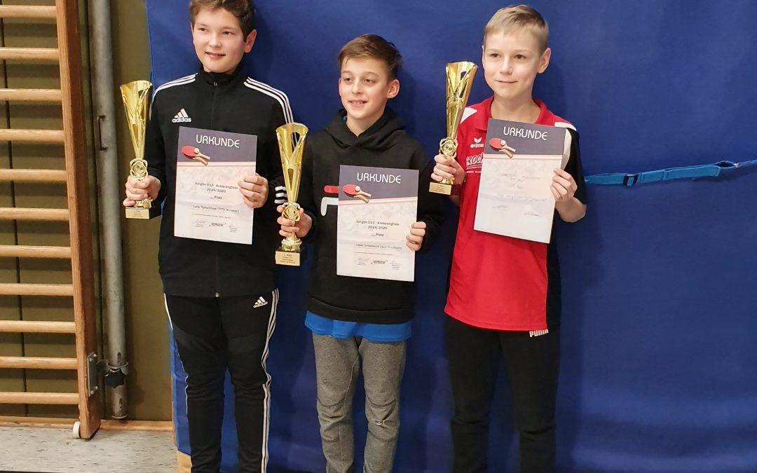 Janko Schemmick vom SuS Stadtlohn gewinnt die Jungen U13-Kreisrangliste