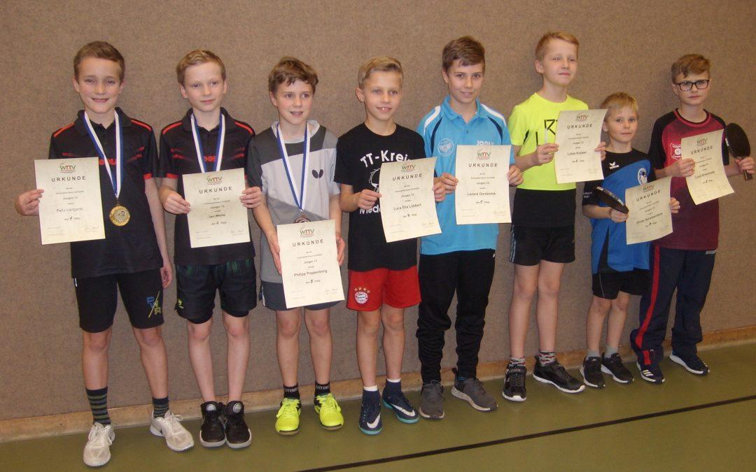Endrunde Jungen 13 – Ranglistenturnier