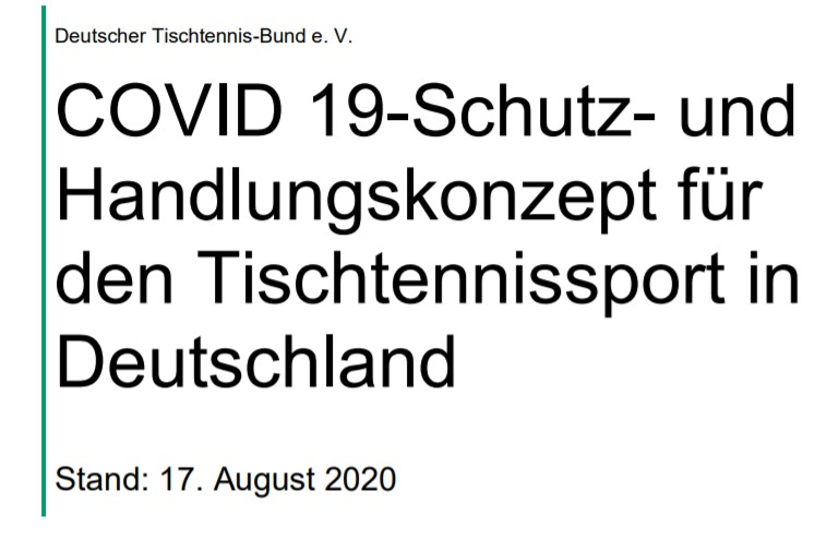 UPDATE DTTB-SCHUTZKONZEPT 17.08.
