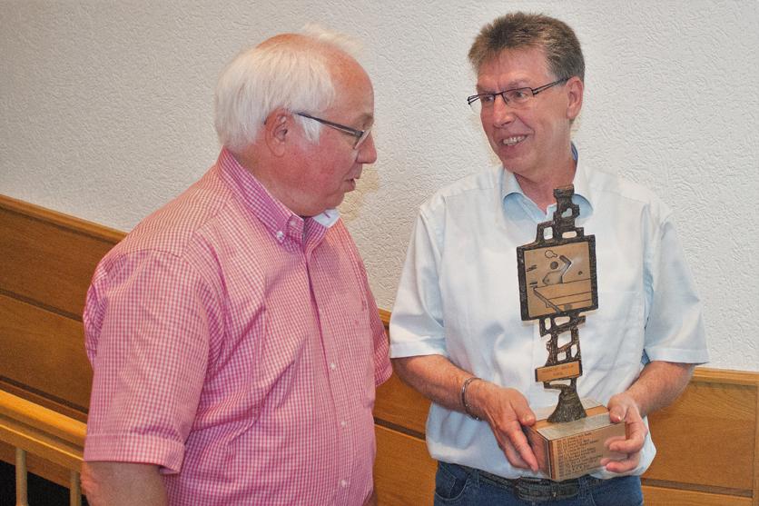 2018: Albrecht-Nikolai-Pokal für Hans-Jürgen Posnanski
