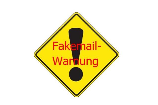 FAKEMAIL–WARNUNG