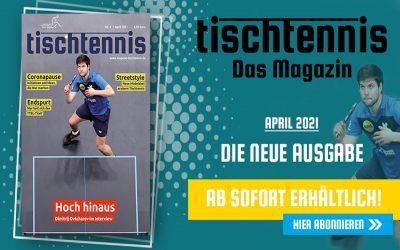 """""""tischtennis"""" IM APRIL"""
