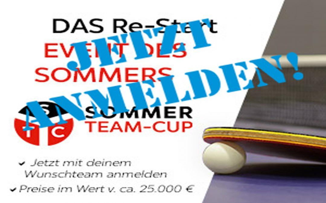 SOMMER-TEAM-CUP ANMELDUNG