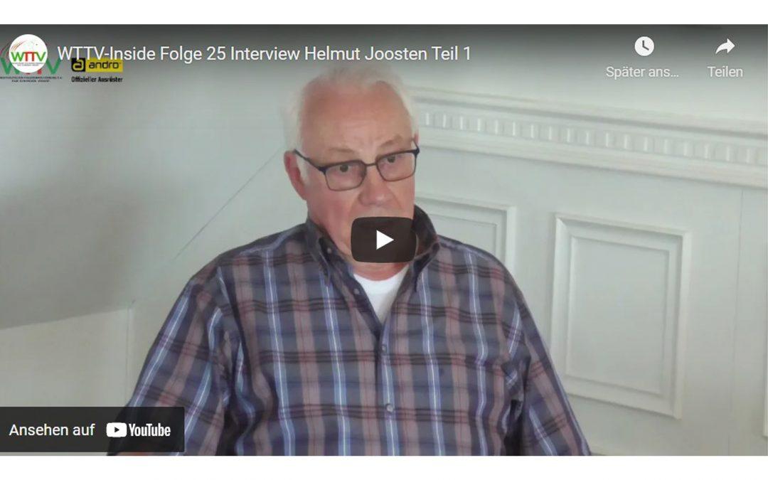 HELMUT JOOSTEN IM INTERVIEW