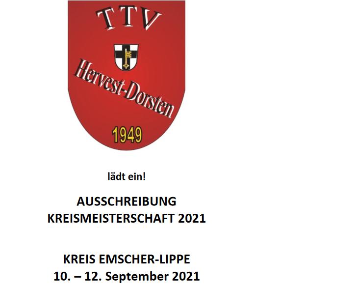 TTV Hervest Dorsten richtet gelungene Kreismeisterschaften aus